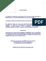 Lei Organica Municipio 2006 II