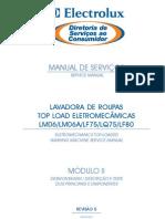 Electrolux LM-06 - LM06A - LF75 - LQ75 - LF80 - Manual de Serviços
