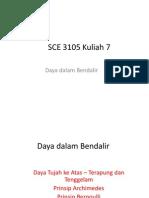 SCE 3105 Kuliah 7 Daya Dalam Bendalir