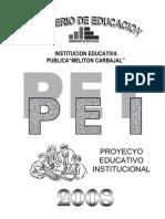 CENTRO DE EDUCACIÓN TÉCNICA PRODUCTIVA
