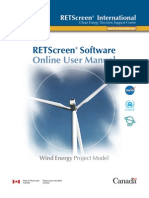 Retscreen User Manual