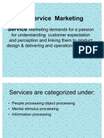 Copy of Service Marketing for Sem -2