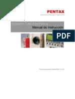 Manual Pentax R300X - Estación