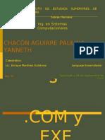 Archivos .COM y .EXE (diferencia)