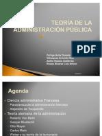 TEORÍA DE LA ADMON. PUBLICA presentacion equipo 2