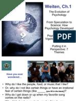 CH 1 Evolution of Psychology