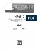 Civic XR4110 Manual