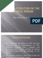 English Literature in the Romantic Period