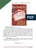 Gabriella Anderson - Para Sempre Seu - CH 281