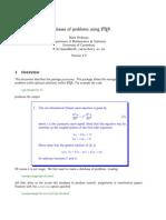 Problems Manual