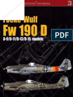 Focke-Wulf FW-190D (Kagero Top Drawings 3)