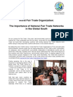 The Importance of National Fair Trade Networks in the Global South