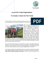 To Create a Vision for Fair Trade