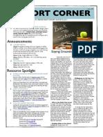 Pilot Cohort Corner Issue # 2