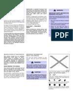 05 Infiniti G35 Owners Manual
