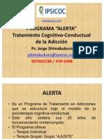 Tratamiento cognitivo-conductual de la adicción ponencia congreso