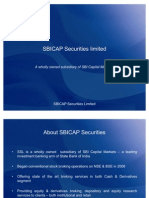 SBICAP Securities Limited Corporate Ppt