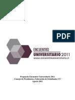 Propuesta Encuentro Universitario 2011