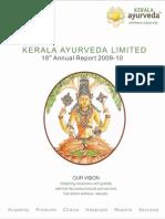 Annual Report - Kerala Ayurveda