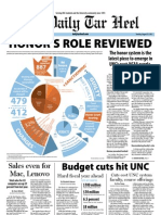 The Daily Tar Heel for August 23, 2011