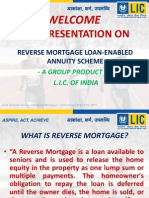 Presentation on Reverse Mortgage Product