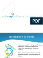 Instep Carbon & Sustainability Programme Brochure