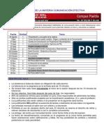 Encuadre Comunicacion Efectiva 2011