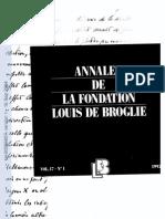 thèse de De Broglie