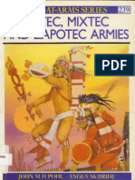 Osprey - Aztec, Mixtec and Zapotec Armies