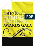 2011 NABJ Salute to Excellence Awards Program