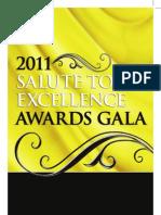 2011 NABJ Salute to Excellence Awards Program