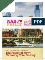 2011 NABJ Convention Pocket Guide