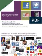 Estrategia, Comunicación Política y Redes Sociales - Ricardo-Amado