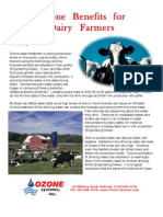 Ozone Benefits for Dairies