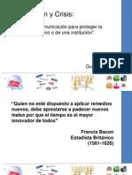 Comunicaciñon en Crisis I - Gustavo Cusot
