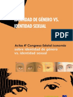 Identidad de Genero vs Identidad Sexual