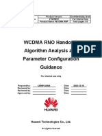 Wcdmarnohandoveralgorithmanalysisandparameterconfigurtaionguidance 20050316 a 1-0-100126082353 Phpapp01