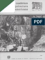 1987a b c, Cuadernos de Arquitectura Mesoamericana num.10