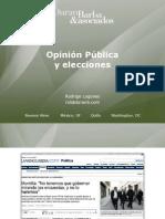 Opinión Pública y Elecciones - Rodrigo Lugones
