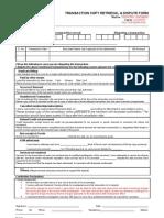 Sample Dispute Form3