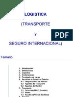 Logistica Int'l (Transp. y Seguro) - 2005
