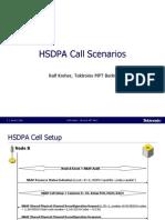 HSDPA Call Scenarios