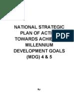 National Strategic Poa State Mdg 4&5 Final 19.01.11