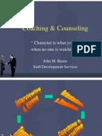Coaching & Counseling