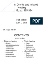 Dielectric, Ohmic, And Infrared Heating