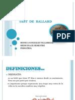 Test de Ballard