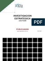 Investigación Estratégica - Julio Pizzeti
