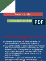 Parenterals BPK