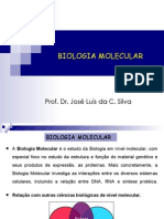 Aula 01 Introducao a Biologia Molecular