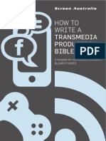 Hayes Trans Media Prod Bible Template 2011